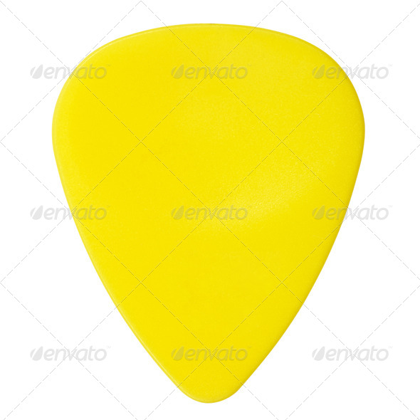 PhotoDune Yellow Plectrum 3854069