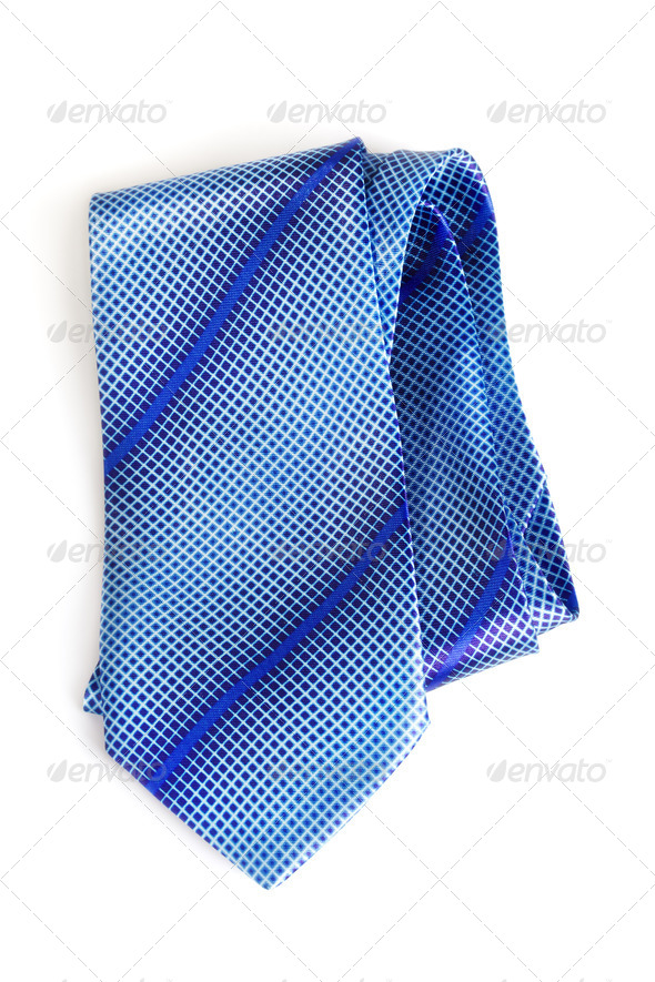 PhotoDune Blue Necktie 3854071