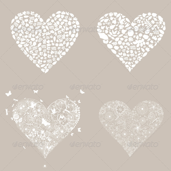 GraphicRiver Heart design an element3 3856642
