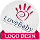Love Baby Logo - GraphicRiver Item for Sale