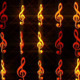 Music Notes Wall - VideoHive Item for Sale