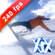 Snowboard Fail 240fps - VideoHive Item for Sale