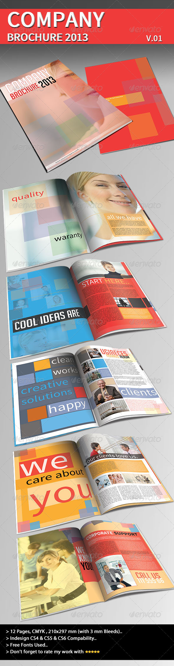GraphicRiver Company Brochure 2013 Part 01 3774329