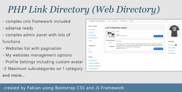 CodeCanyon Complex Link Directory 3862199
