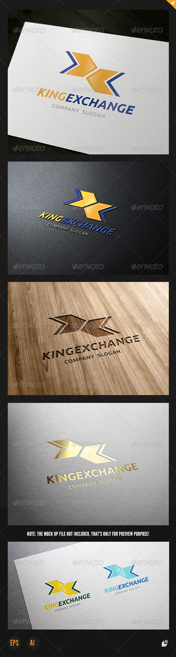 GraphicRiver King Exchange Logo 3862421