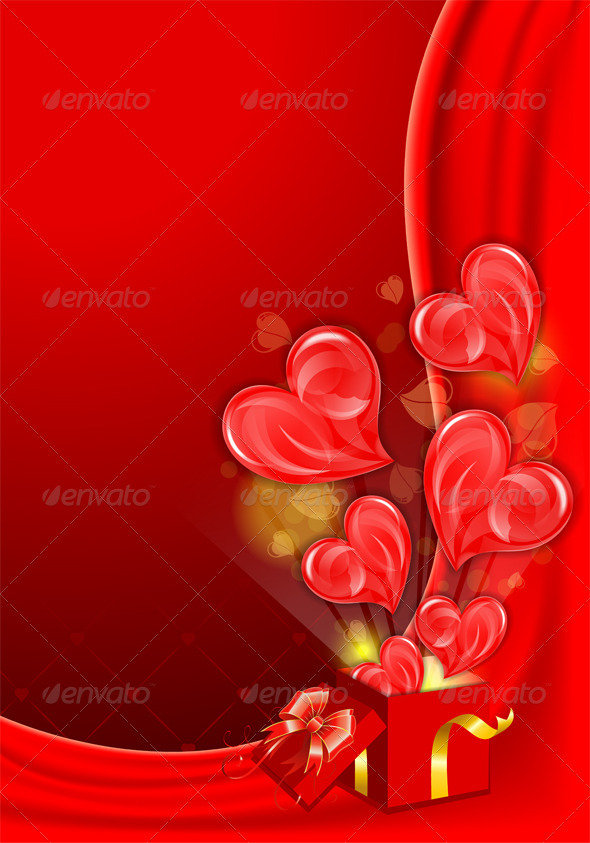 GraphicRiver Valentines Day Card 3862522