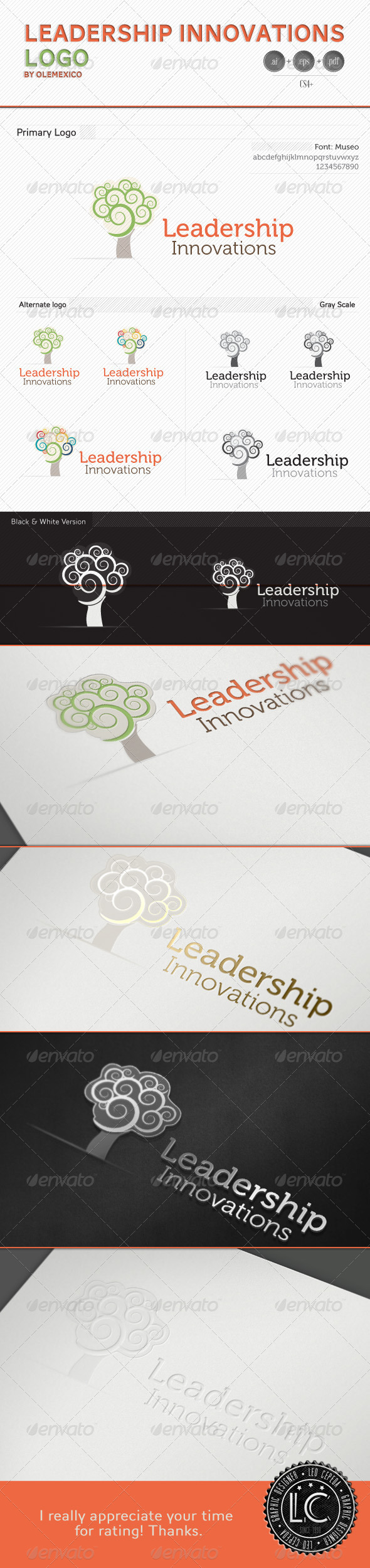 GraphicRiver Logo Leadership Innovation 3675597