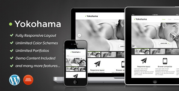 Yokohama - Corporate & Portfolio Theme - Portfolio Creative