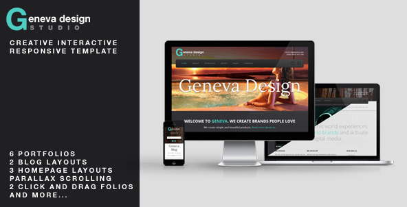 Geneva Unique Interactive Creative Template