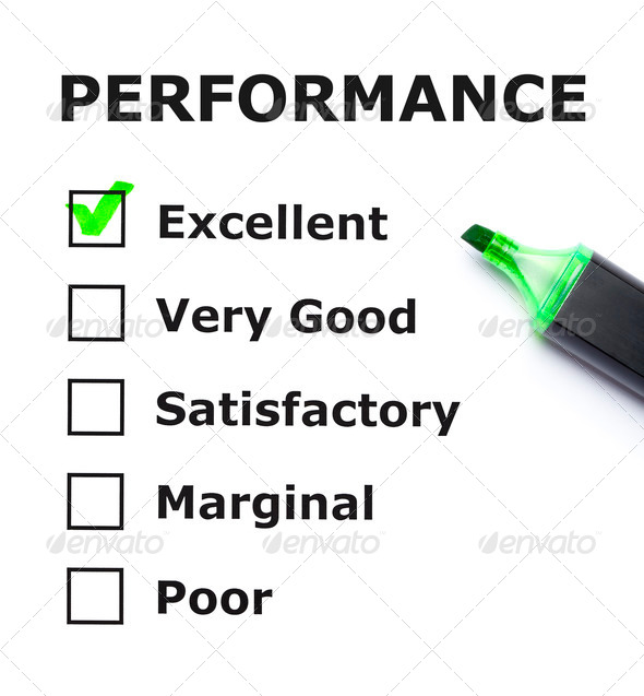 Performance Evaluation - Stock Photo - Images