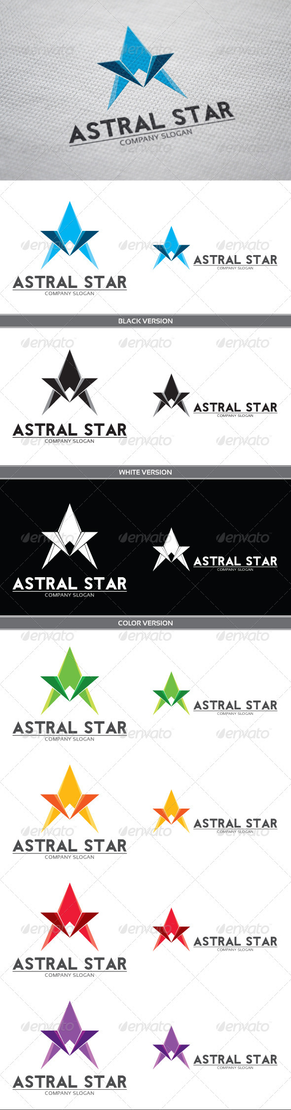 GraphicRiver Astral Logo 3809010