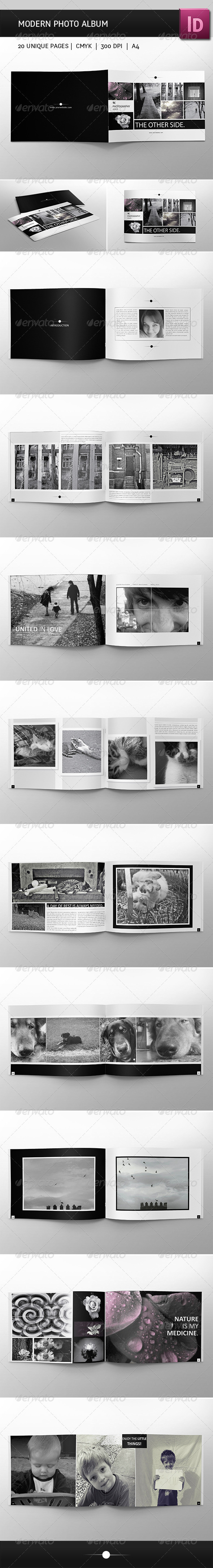 GraphicRiver Modern Photo Album 3864478