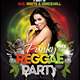 Punky Reggae Party Flyer Template - GraphicRiver Item for Sale