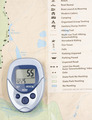 Map With Pedometer - PhotoDune Item for Sale