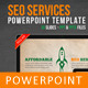 SEO Services Powerpoint Template - GraphicRiver Item for Sale