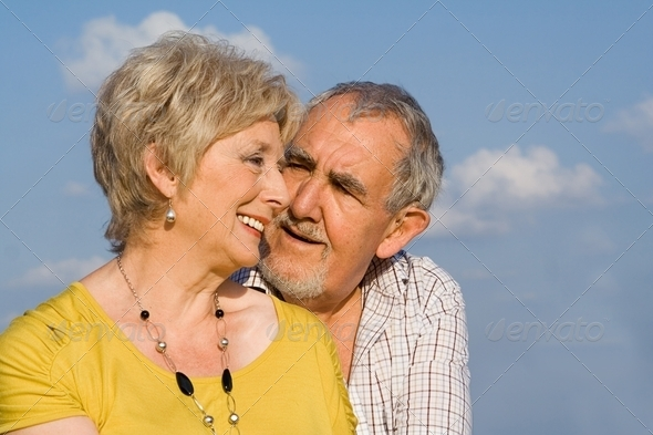 PhotoDune loving senior couple happy in the golden years 3866284