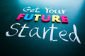 Get your future started concept - PhotoDune Item for Sale