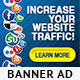 Social Media Network Banner Ad Template - GraphicRiver Item for Sale