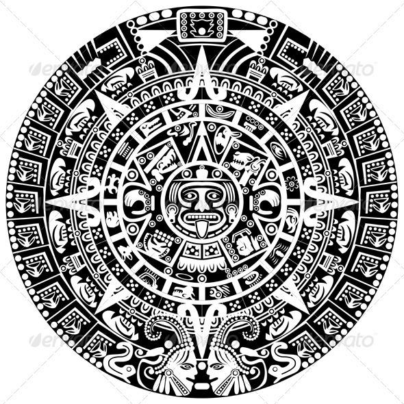 GraphicRiver Mayan Calendar 3869557