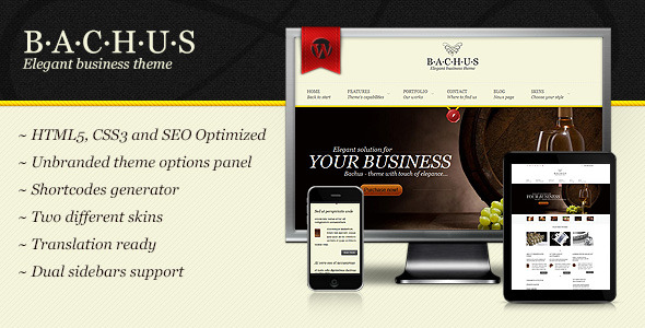 Bachus - Elegant business theme -