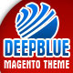 DeepBlue Magento theme - ThemeForest Item for Sale
