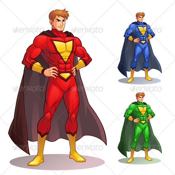 Great Superhero - People Characters