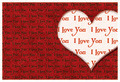 I love you valentine card  6 - PhotoDune Item for Sale