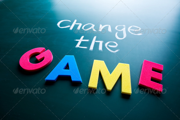 Change the game concept - Stock Photo - Images