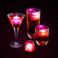 Red Assorted Mixed Drinks - PhotoDune Item for Sale