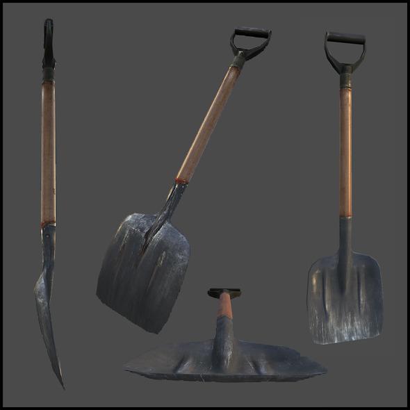 3DOcean Shovel 3883004