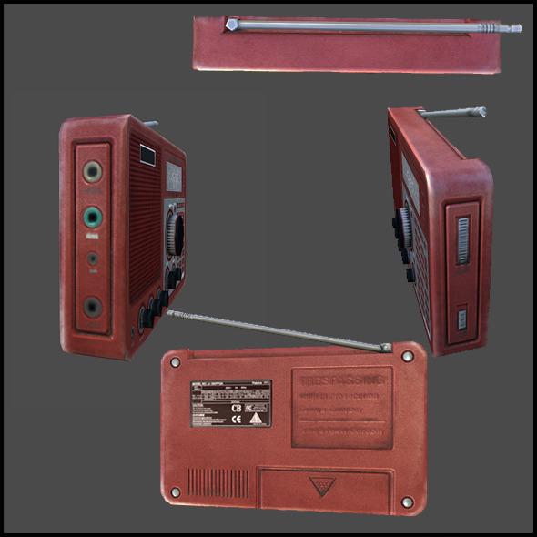3DOcean Field radio 3883163