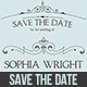 Picture Save The Date Card  - GraphicRiver Item for Sale