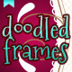 Cute doodled frames pack - GraphicRiver Item for Sale