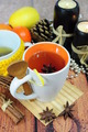 Tea in cup with anise - PhotoDune Item for Sale