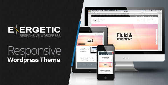Energetic - Responsive Wordpress Theme