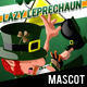 Lazy Leprechaun - Lazy & Keg 'o Gold Mascot - GraphicRiver Item for Sale