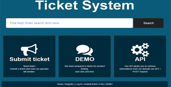 CodeCanyon Ticket System 3889444