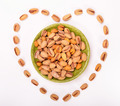 Heart Formed Pistachios - PhotoDune Item for Sale