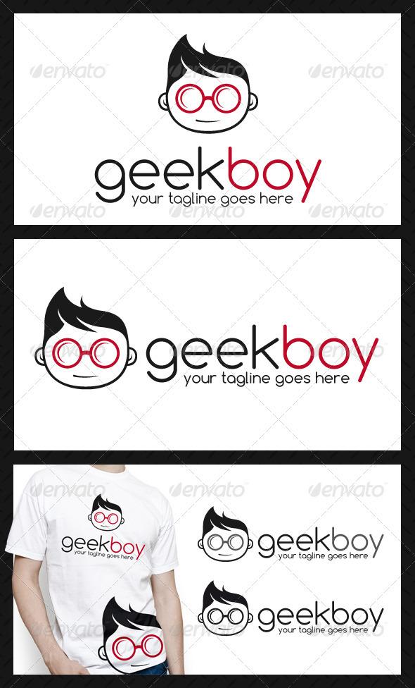GraphicRiver Geek Logo Template 3893332