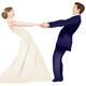 Dancing Married Couple - GraphicRiver Item for Sale