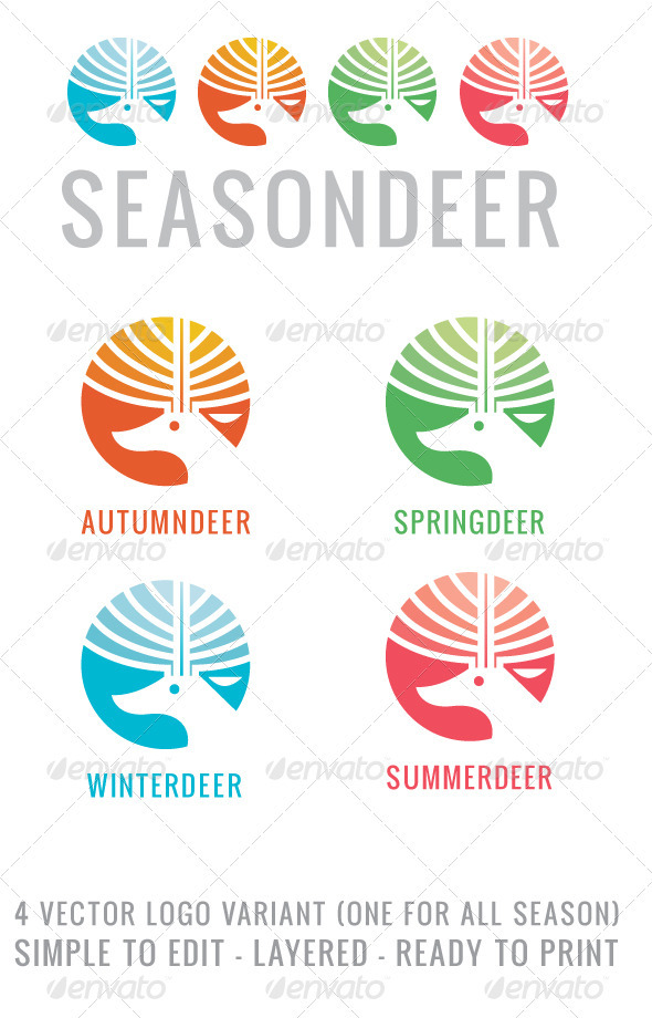 GraphicRiver Seasondeer 3893974