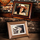 Photo Frame on the Shelf - GraphicRiver Item for Sale