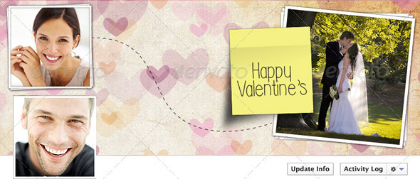 FB Timeline Valentine's - Facebook Timeline Covers Social Media