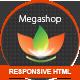 MEGASHOP HTML VERSION - ThemeForest Item for Sale