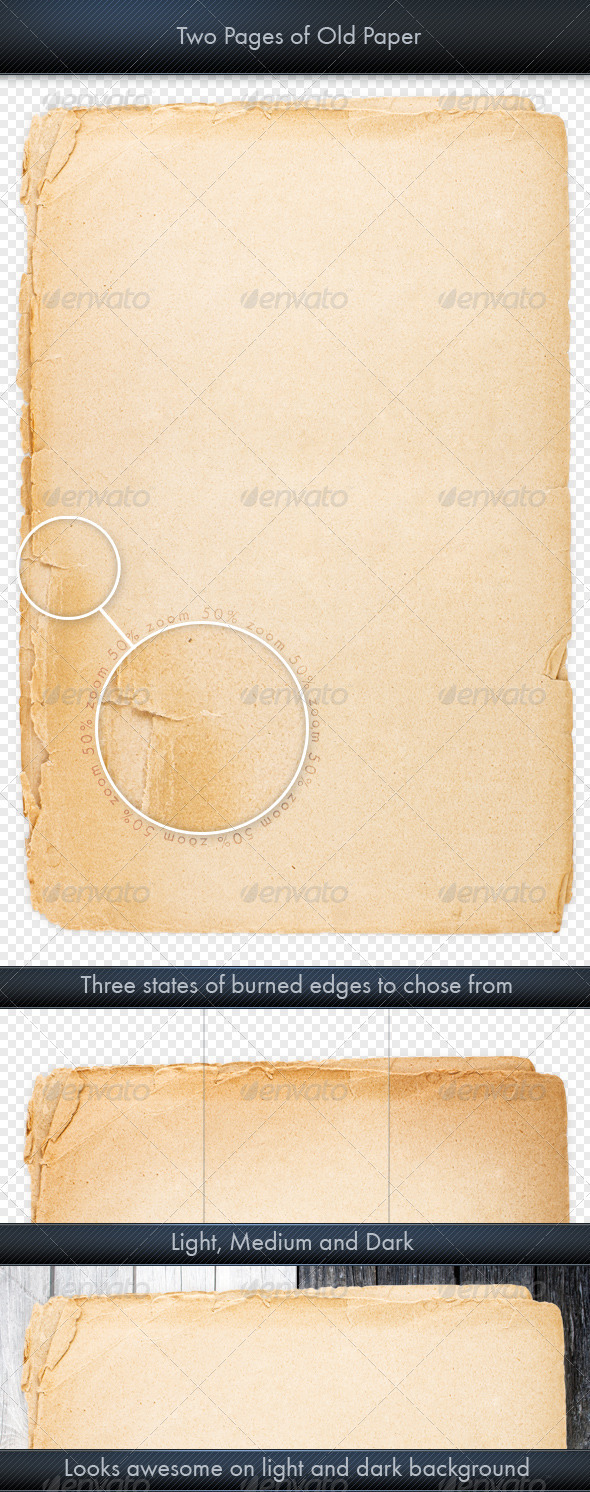 GraphicRiver Sheet of Old Paper 3896663