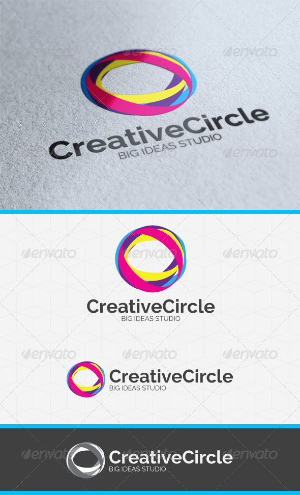 GraphicRiver Creative Circle Logo Template 3898059