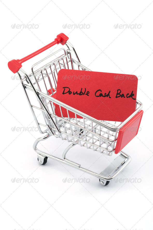 Double cash back - Stock Photo - Images