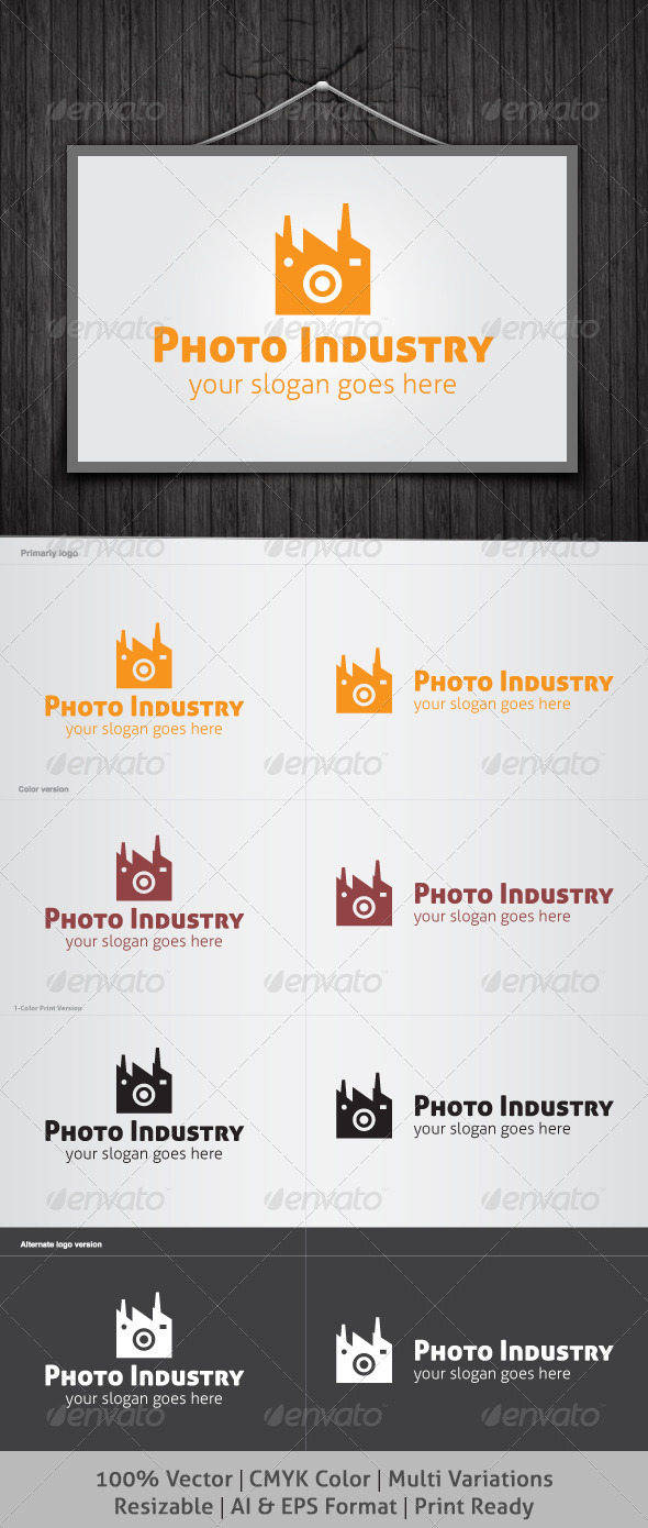 Photo Industry Logo - Objects Logo Templates