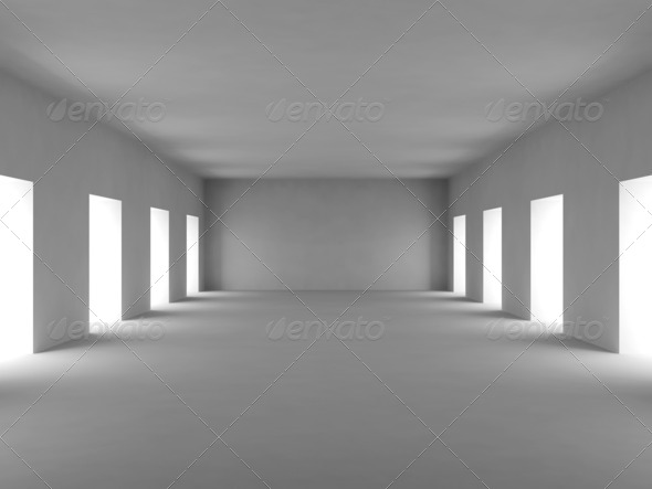 white empty 3d room stock photo by koolander photodune