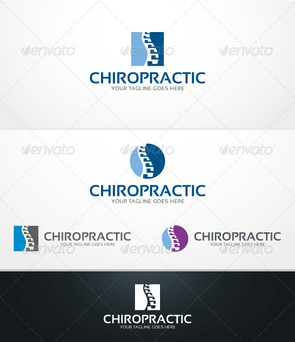 GraphicRiver Chiropractic Logo Template 3900322